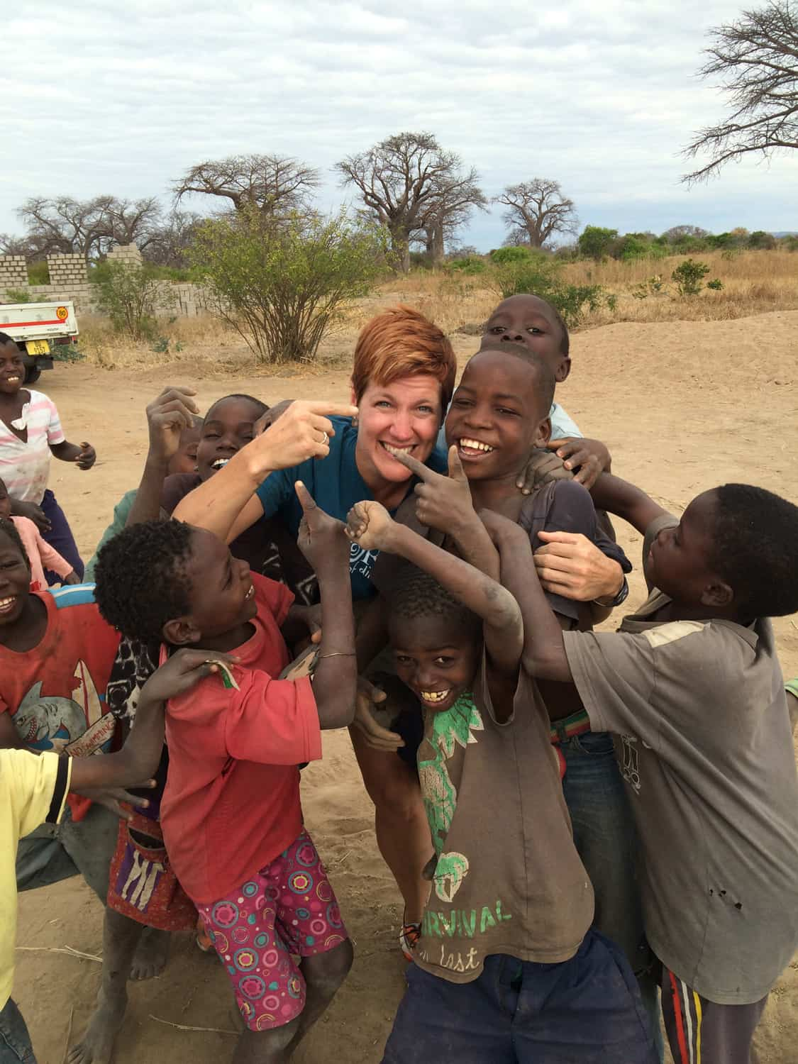 Anne leads high school building expeditions to the Mangochi district of Malawi in southern Africa for the Warm Hearts Foundation (link to https://warmheartsfoundation.org/)