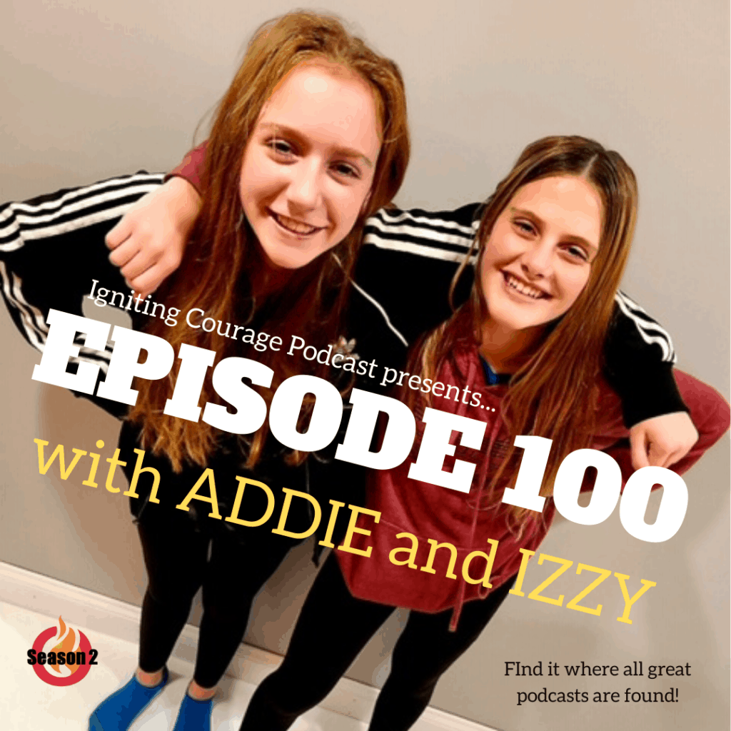 Addie and Izzy 12 year old guests
