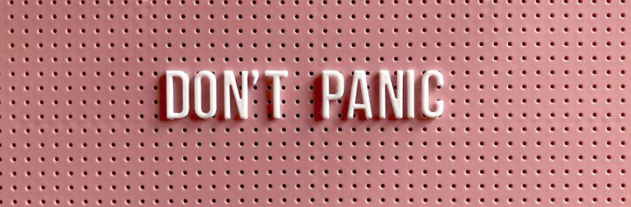 public speaking don't panic