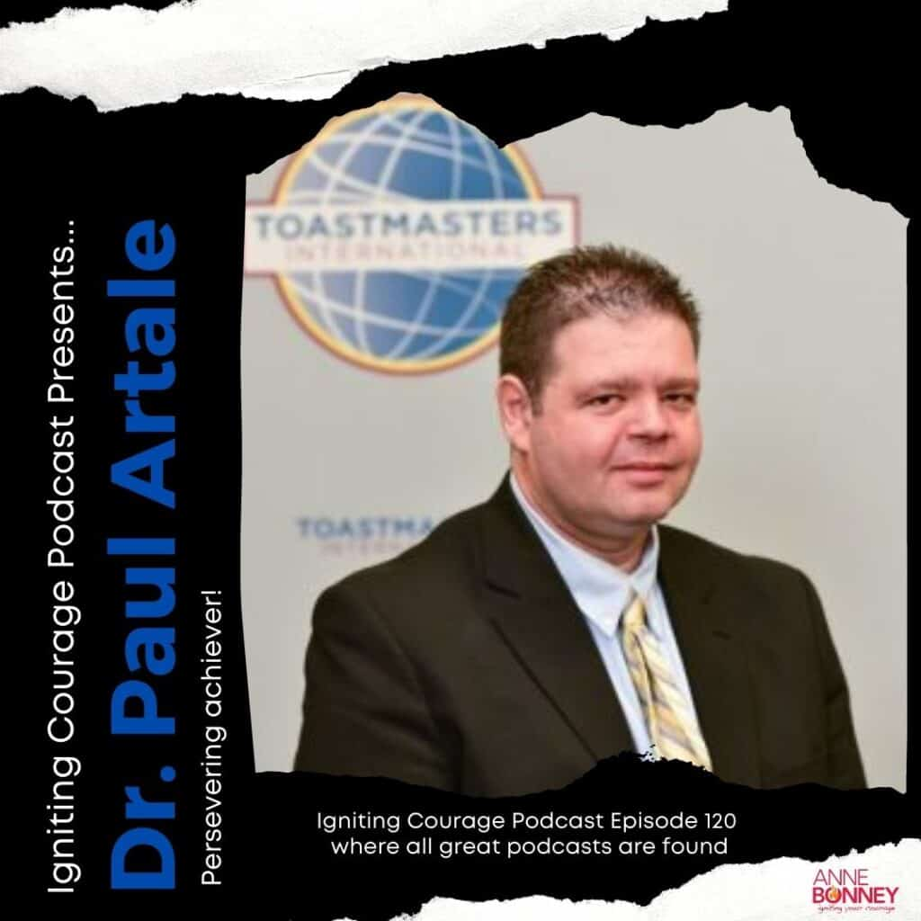 Paul Artale on Igniting Courage Podcast