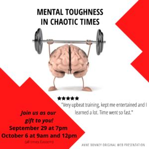 Mental Toughness Free Webinar